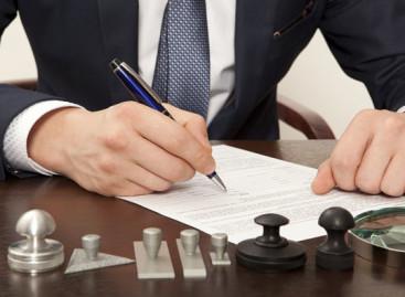 Tarieven notarissen blijven dalen