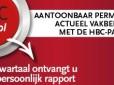 HBC PA-tool: aantoonbaar permanent actueel