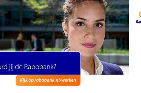 Rabobank  zoekt een Financieel Adviseur in Doetinchem Ambachtstraat