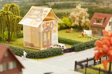 Stijgende woningprijs nog steeds onder pre-crisisniveau