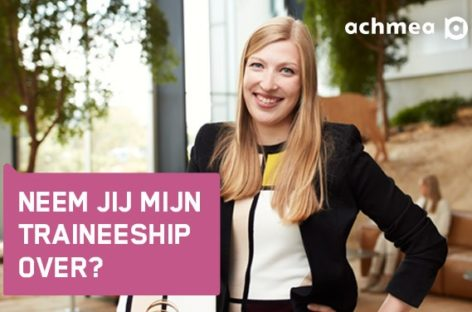 Achmea zoekt een Management Traineeship in Nederland