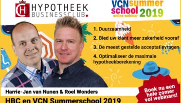 HBC en VCN Summerschool 2019