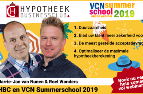 HBC en VCN Summerschool weer van start