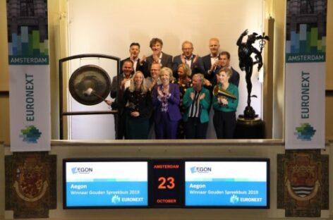 Aegon Hypotheken wint Gouden Spreekbuis 2019