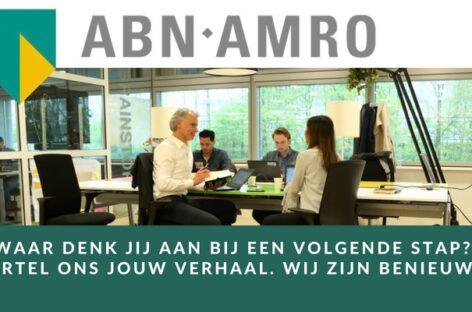 ABN AMRO Bank zoekt een Hypotheekacceptant in Amersfoort, Utrecht