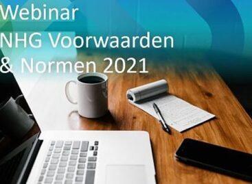 Webinar NHG Voorwaarden & Normen in 2021