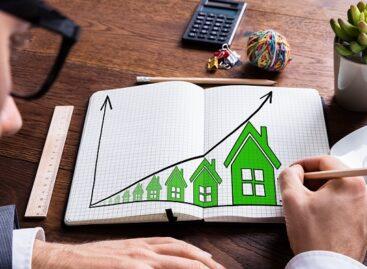 Huizenprijs na dieptepunt 63,5% gestegen